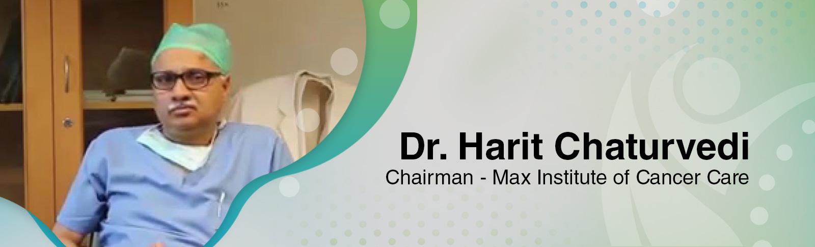 Dr Harit Chaturvedi
